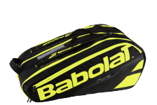Taška na tenisové rakety BABOLAT RACKET HOLDER PURE LINE X12 black/yellow